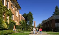 George Fox, a Christian college in Oregon, is among the largest private universities in the state.