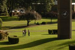 George Fox's Christian college campus is located in Oregon's lush Willamette Valley.