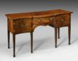 A superb George III Serpentine sideboard, circa 1770. Courtesy of William Cook.