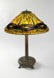 """A Tiffany Studios New York """"Dragonfly"""" table lamp, circa 1900. Courtsey of Macklowe Gallery."""