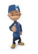 Lawson's animated character, Lars Lawson