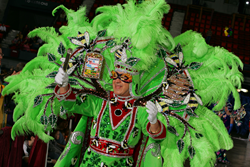 Fabulous costumes are one thing visitors to Lake Charles Mardi Gras can expect to see!