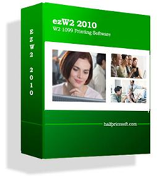 Form W2 and form 1099 Printing software from halfpricesoft.com