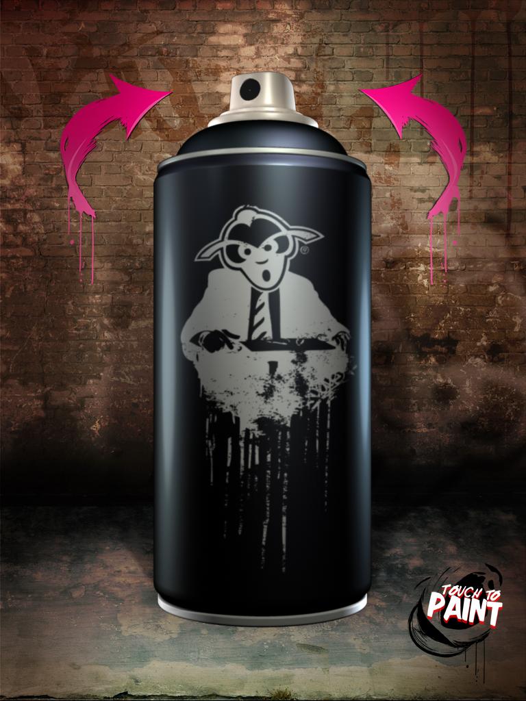 Bombing The Ipad Graffiti Spray Can S Big Screen Debut