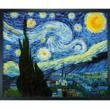 Framed hand painted Starry Night - The Masterpiece by Vincent Van Gogh