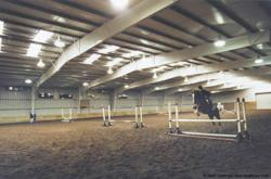 Olympia Steel Buildings Horse Riding Arena