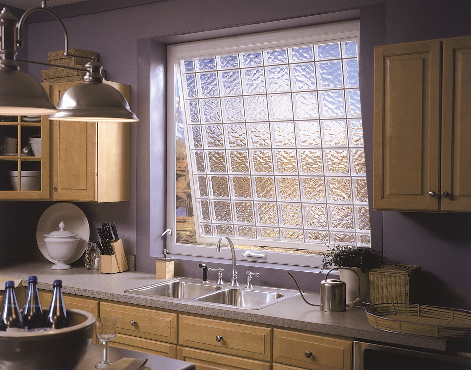 Hy lite expects demand for operable privacy windows to for Acrylic glass block windows