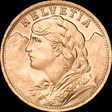 Swiss Franc Gold Coins Available At U S Bullion Dealer Precious Metals Brokerage Group Pmbg