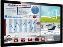Building monitoring display