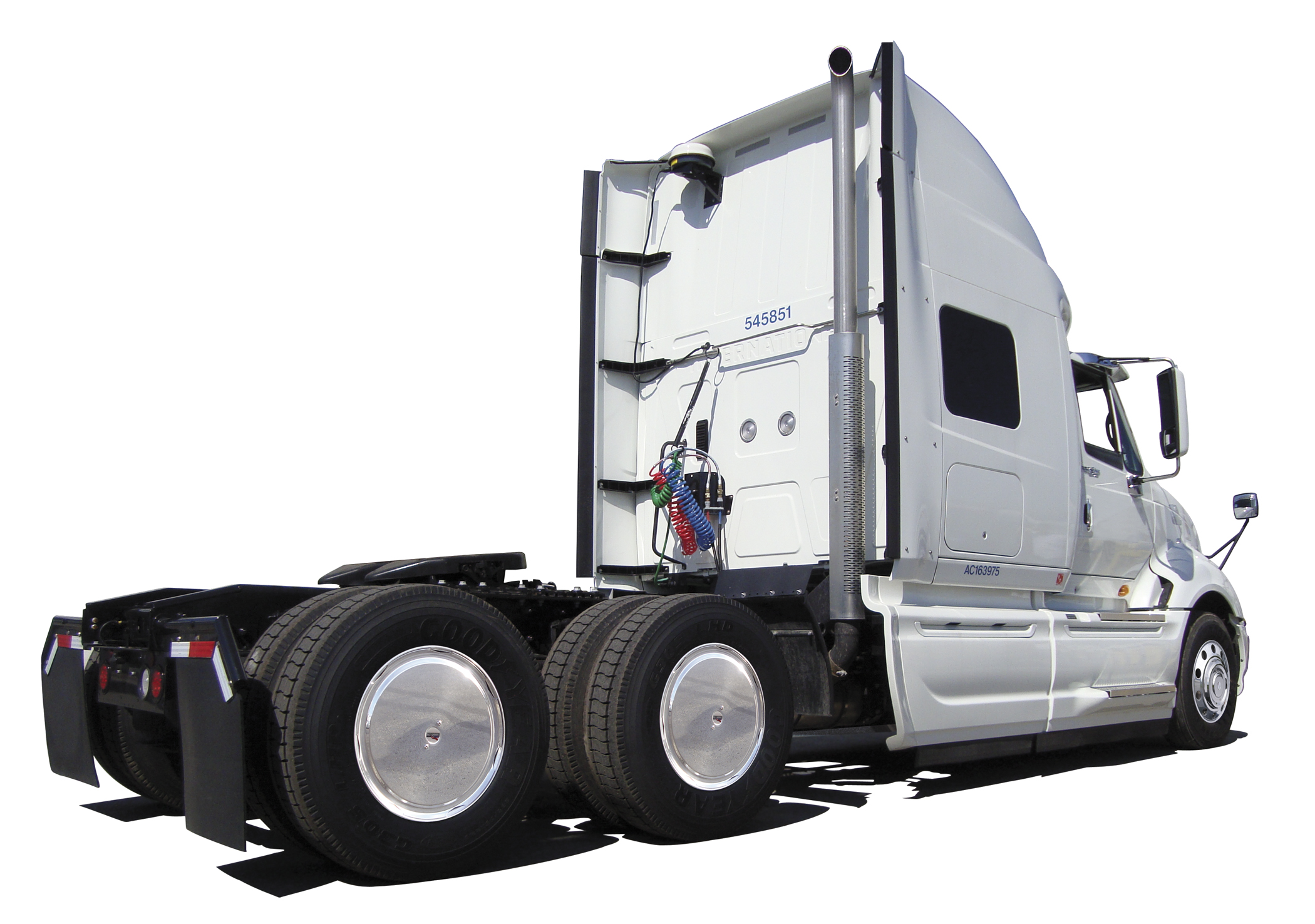 Semi Trailer Covers : Realwheels completes testing for aerodynamic semi wheel covers