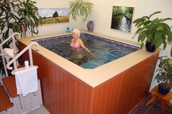 compact exercise & therapy pools