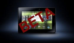 DragonRAD BlackBerry PlayBook Beta
