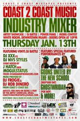 Coast 2 Coast Music Industry Mixer