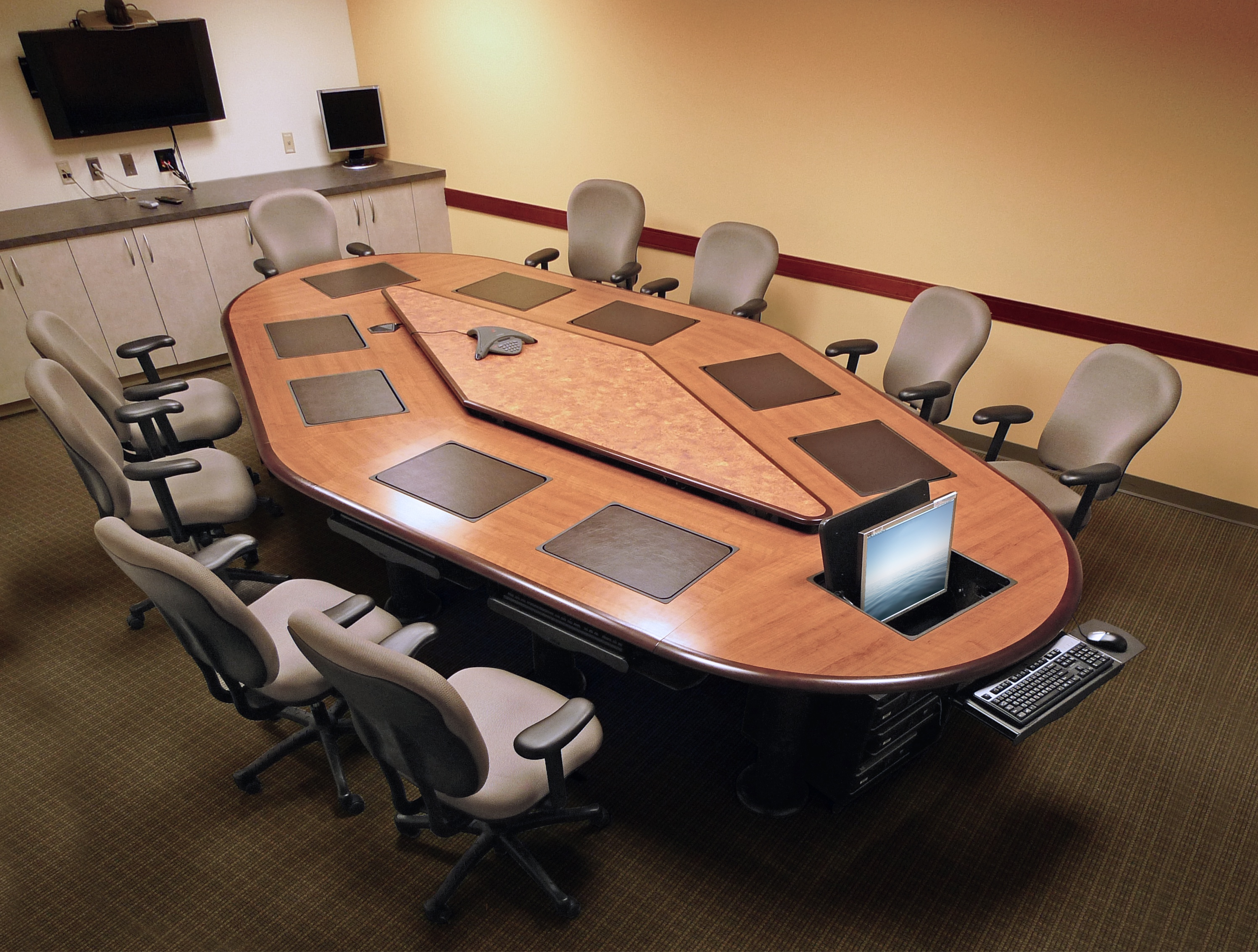 State Department Upgrades To Iconference Computer Table