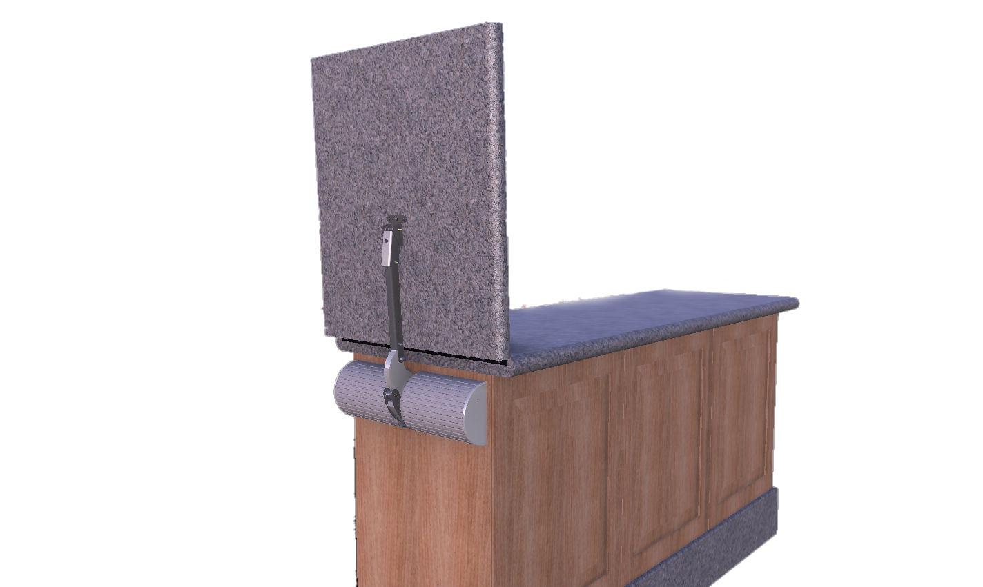 Lift-A-SYST, counterbalance, countertop door, hinge, flip up counter ...