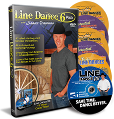 Line Dance 6-Pack (Line Dancing DVDs/Videos)