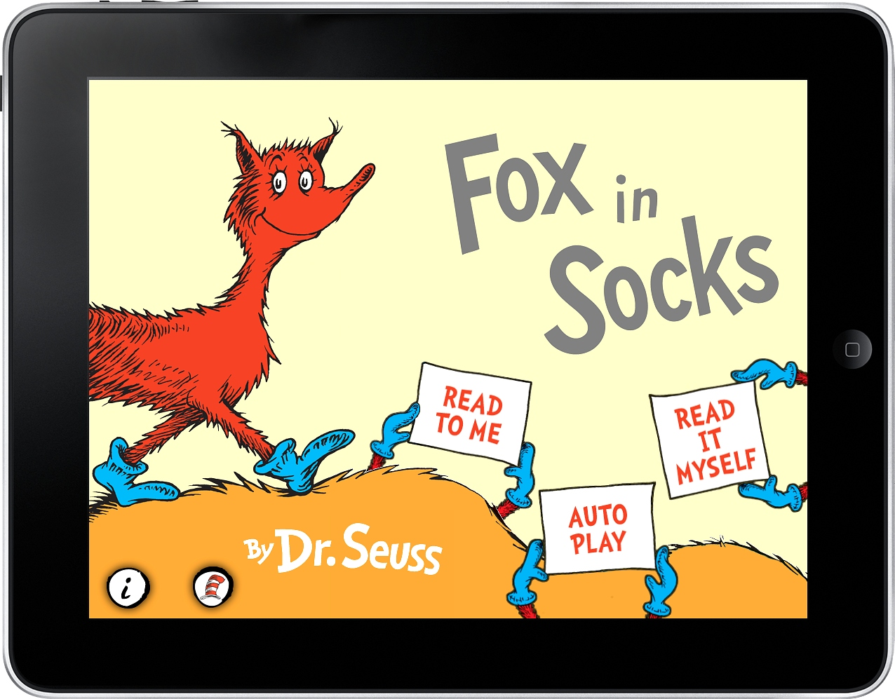 Fox in Socks for the iPad