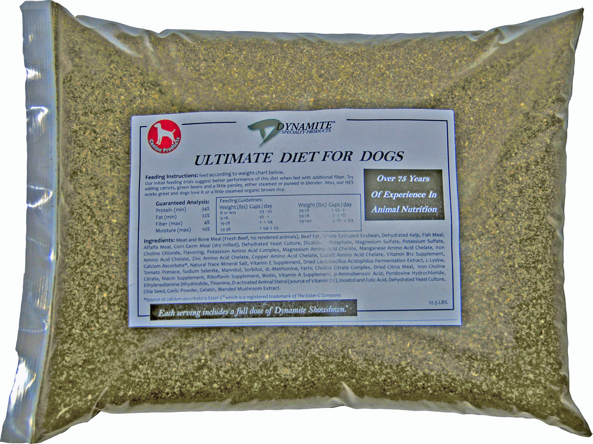Dynamite Ultimate Dog Food