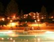 The Glenwood Hot Springs pool is open until 10:00 PM daily, and offers guests unlimited access during a stay