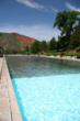 The world's largest hot springs pool at Glenwood Hot Springs is over two blocks long, and a longstanding family favorite