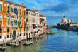 Smithsonian travelers experience the Grand Canal in Venice