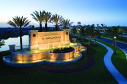 Valenica Pointe Entrance