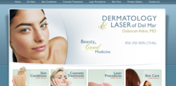 San Diego CA dermatology laser treatment BOTOX Fraxel