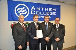 anthem education group Anthem education group (aeg) is a phoenix, arizona-based family of schools and colleges that provides career focused training and education programs at accredited institutions throughout the united states.