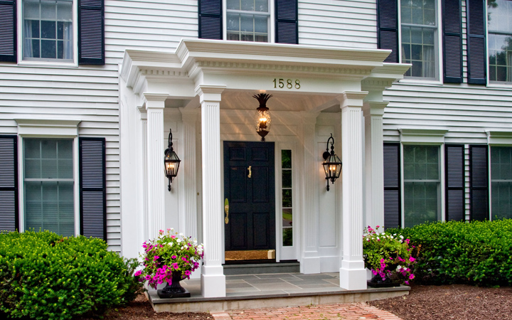 Portico design pictures home decorating ideas for Modern portico designs
