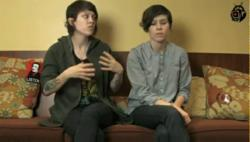 Interview with Tegan and Sara by X1FM
