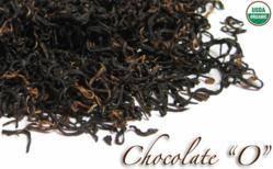Loose leaf black organic chocolate tea