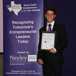 The TCU Texas Youth Entrepreneur of the Year Awards
