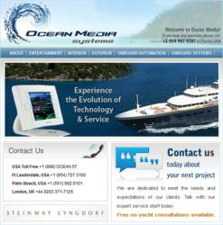 Ocean Media website