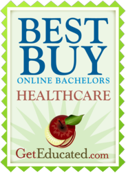Most Affordable Online Degrees in Bachelors Healthcare Ranked by GetEducated.com