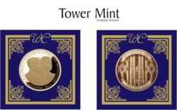 The Tower Mint's Royal Wedding commemorative, crafted in gold plated solid brass, is now available through The U.K. Gift Company, the online sales division of Church's China, the longest operating Royal Commemorative retailer in the United Kingdom.