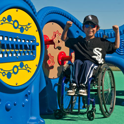 VIew Inclusive Play Accessible Playground Equipment from Landscape Structures