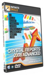 Advanced Crystal Reports 2008 Training DVD