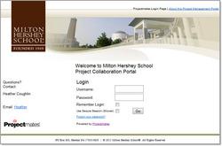 Projectmates Portal Page