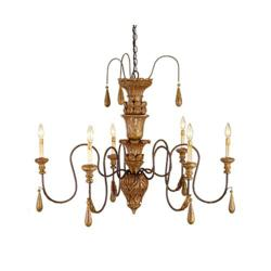 Free Shipping on Currey and Company lighting | 9334 Mansion Chandelier Small