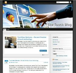 Touch Blog Launched as Touch Technology Information Hub