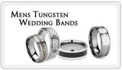 Mens Tungsten Wedding Bands
