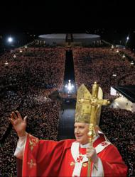 Pope Benedict XVI at Fatima Shrine May 13, 2010