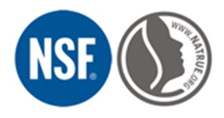 NSF International and NATRUE Logos
