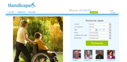 online dating website for disabled people in French