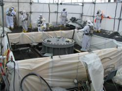 Hanford Site Abrasive Water Jet Cutting Project