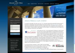 The Helms Law Firm, P.L.C. New Website