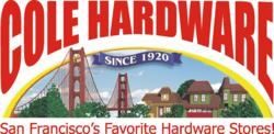 Cole hardware san francisco pledges to offset 100 of for Benjamin moore paint store san francisco
