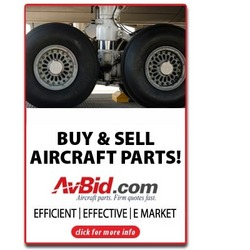 Buy and sell aircraft parts online.