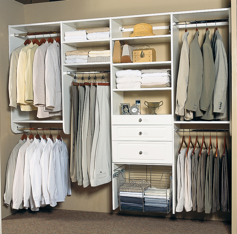 Organized interiors to debut sophisticated thermofoil Closet organizing systems