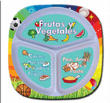Fresh Baby Kids Portion Plate - Espanol